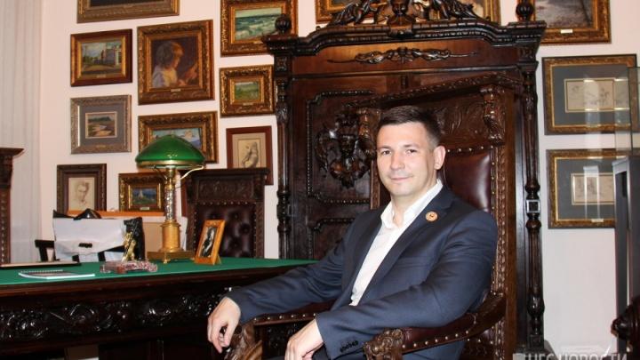 Новосибирец открыл в Москве аукционный дом