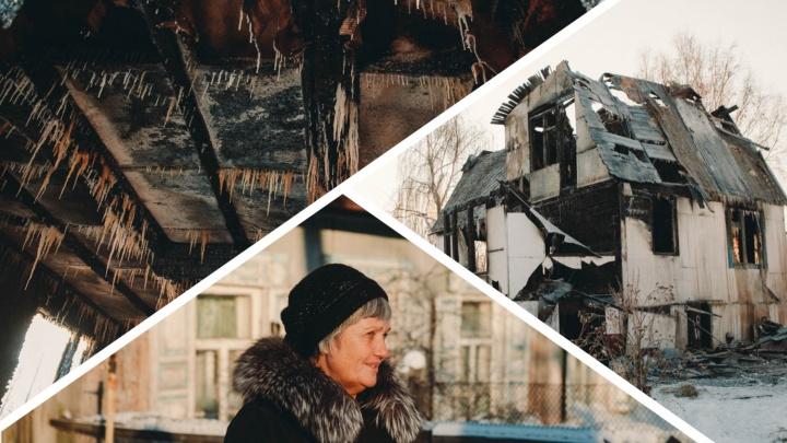 «Боюсь, что сожгут вместе с домом». Люди отказываются переезжать с Береговой, где хотят построить ТРЦ