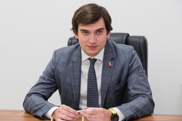 Министру экономического развития Пермского края Максиму Колесникову 31 год