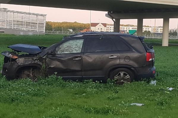 В аварии пострадал 26-летний водитель