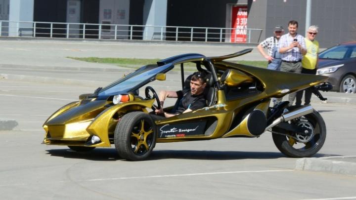 «Считать расходы перестал после 1 млн»: челябинец собрал фантастическое авто по снимку из интернета