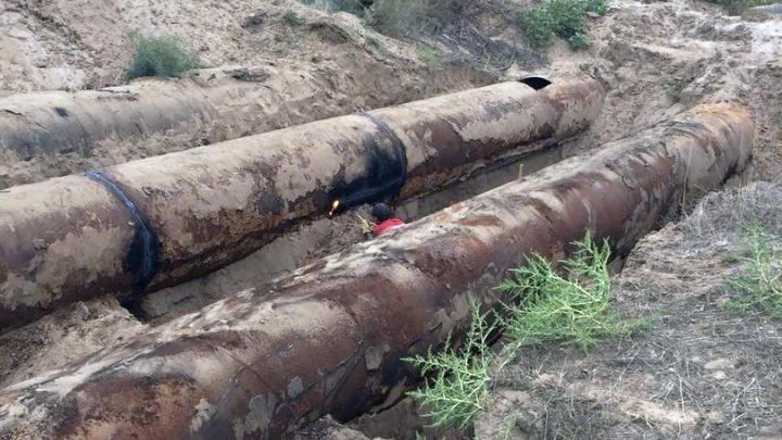 Волгоградец пытался украсть трубопровод длиной 2,4 километра