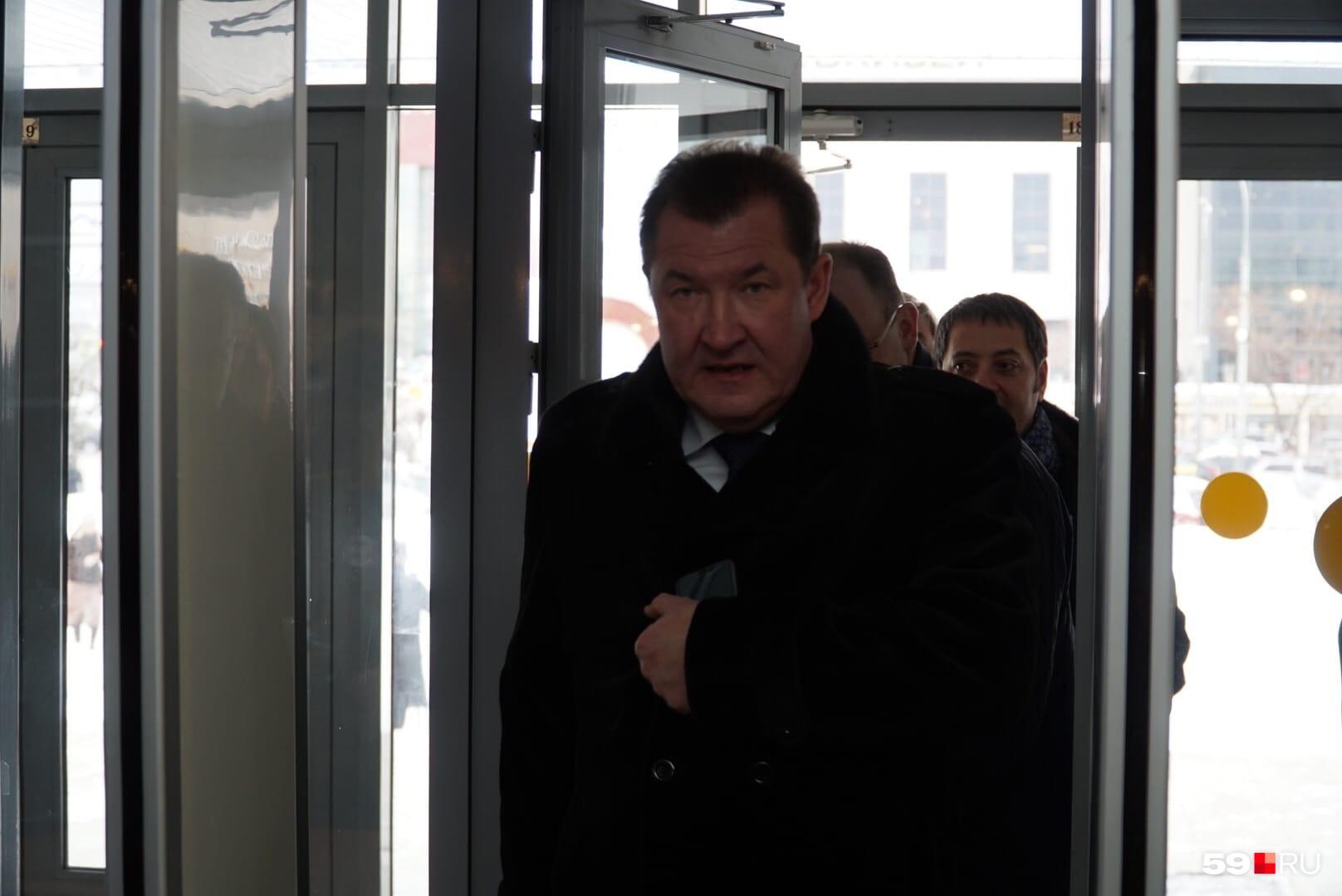 Гендиректор компании «ЛУКОЙЛ-ПЕРМЬ», депутат Заксобрания Олег Третьяков