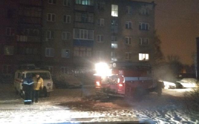В Башкирии в пылающей квартире заживо сгорели два человека