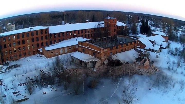 В Ярославской области здание 120-летней фабрики разбирают на кирпичи