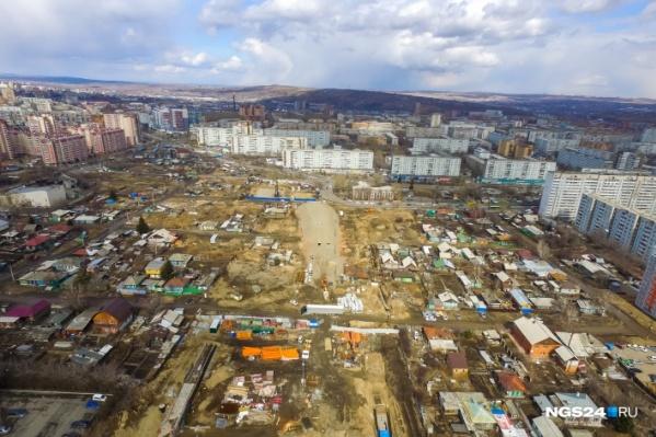 Ради строительства дороги частный сектор пойдет под снос