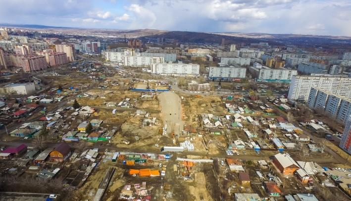 Сотни домов в Николаевке изымают ради строительства дороги в центр