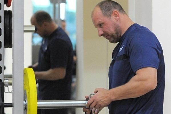 АлександрМикульчик— новый тренер по физической подготовке ХК «Сибирь»