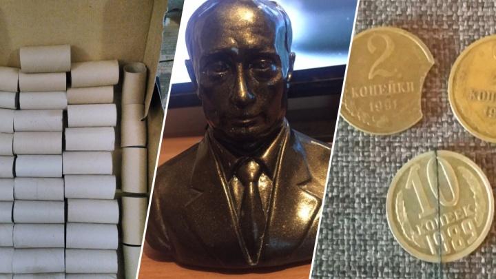 Втулка, шерсть шпица и бюстик Путина: 9 странных вещей, которые люди продают на сайтах объявлений