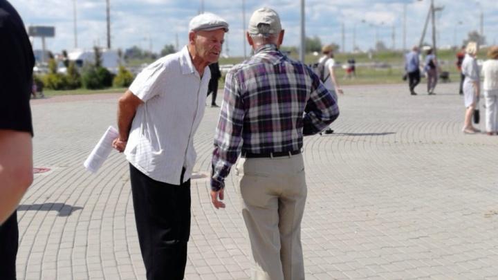 Омичи вышли на новый митинг против повышения пенсионного возраста. Что происходило у Арены?