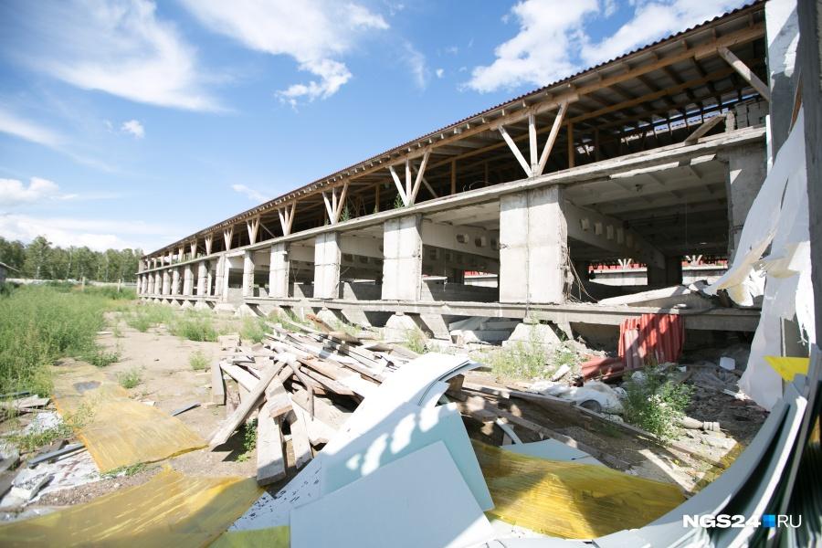 Крыша заброшенной птицефабрики рухнула намужчину под Красноярском