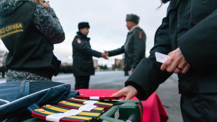 Награды и новые погоны: в Самаре чествовали лучших полицейских