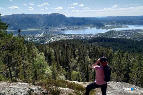 Суровой природой Норвегии можно любоваться бесконечно<br>