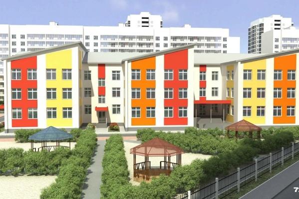 Детский сад у микрорайона «Ямальский-2» рассчитан на 360 мест, а на улице Мебельщиков — на 350