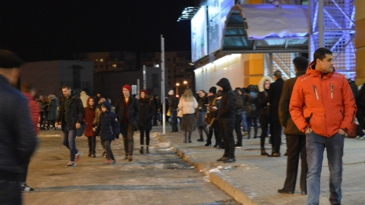 Из ТЦ «Парк Хаус» в Самаре эвакуировали 170 человек