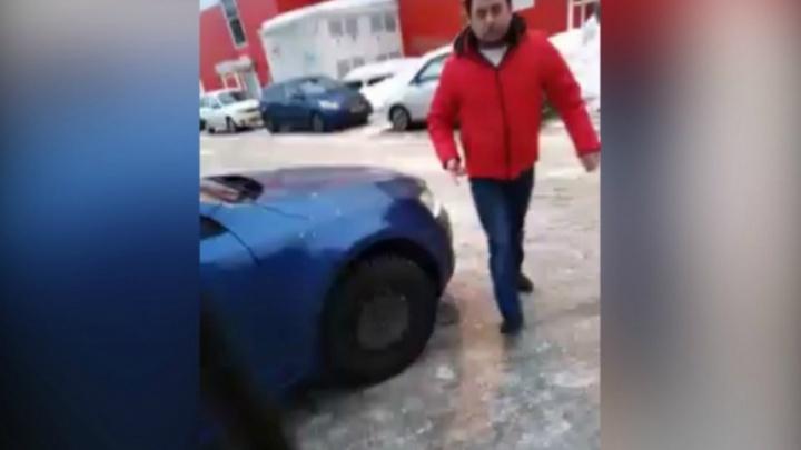 За драку из-за парковки на ярославца возбудили уголовное дело