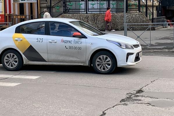 Новосибирцы жалуются на водителей «Яндекс.Такси»