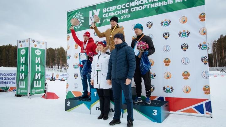 Команда Курганской области завоевала бронзу Всероссийских зимних сельских игр