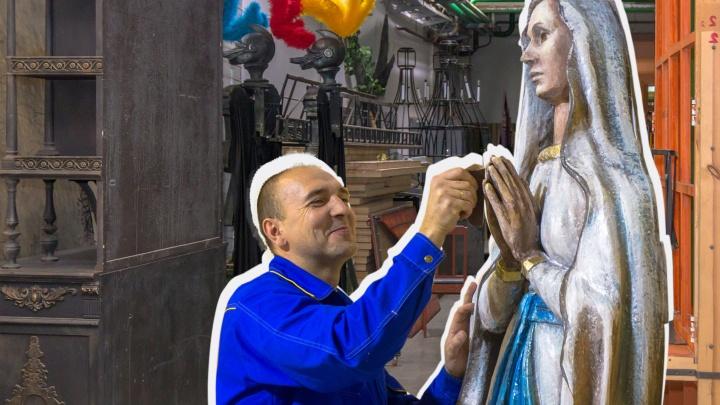 Двухметровая Мадонна и огромная ракушка: как в Оперном театре готовятся к премьере нового балета