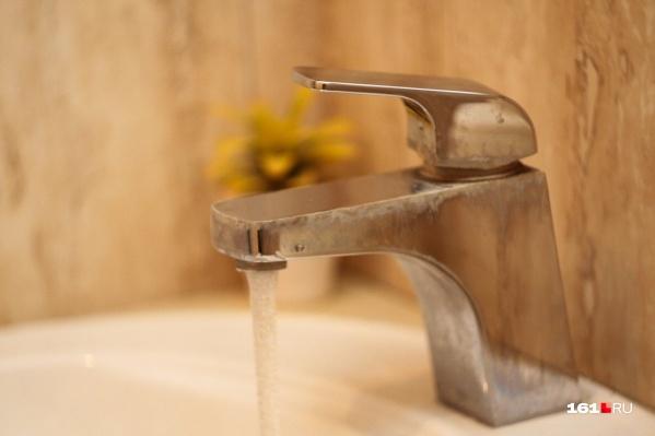Подачу воды возобновят 1 октября
