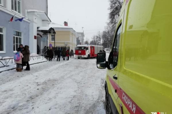 В Ярославле начались массовые эвакуации
