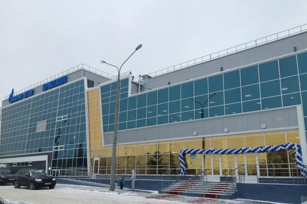 Спорткомплекс открыли зимой 2015 года