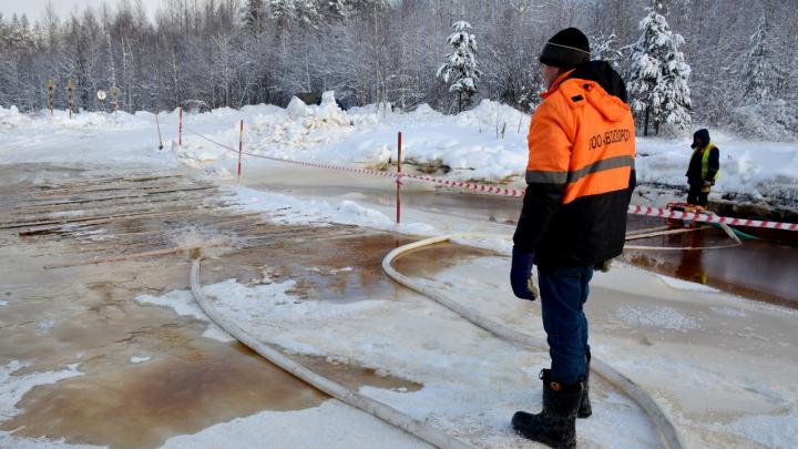 Зимнюю дорогу в село Патракеевка под Архангельском планируют провести по новому пути