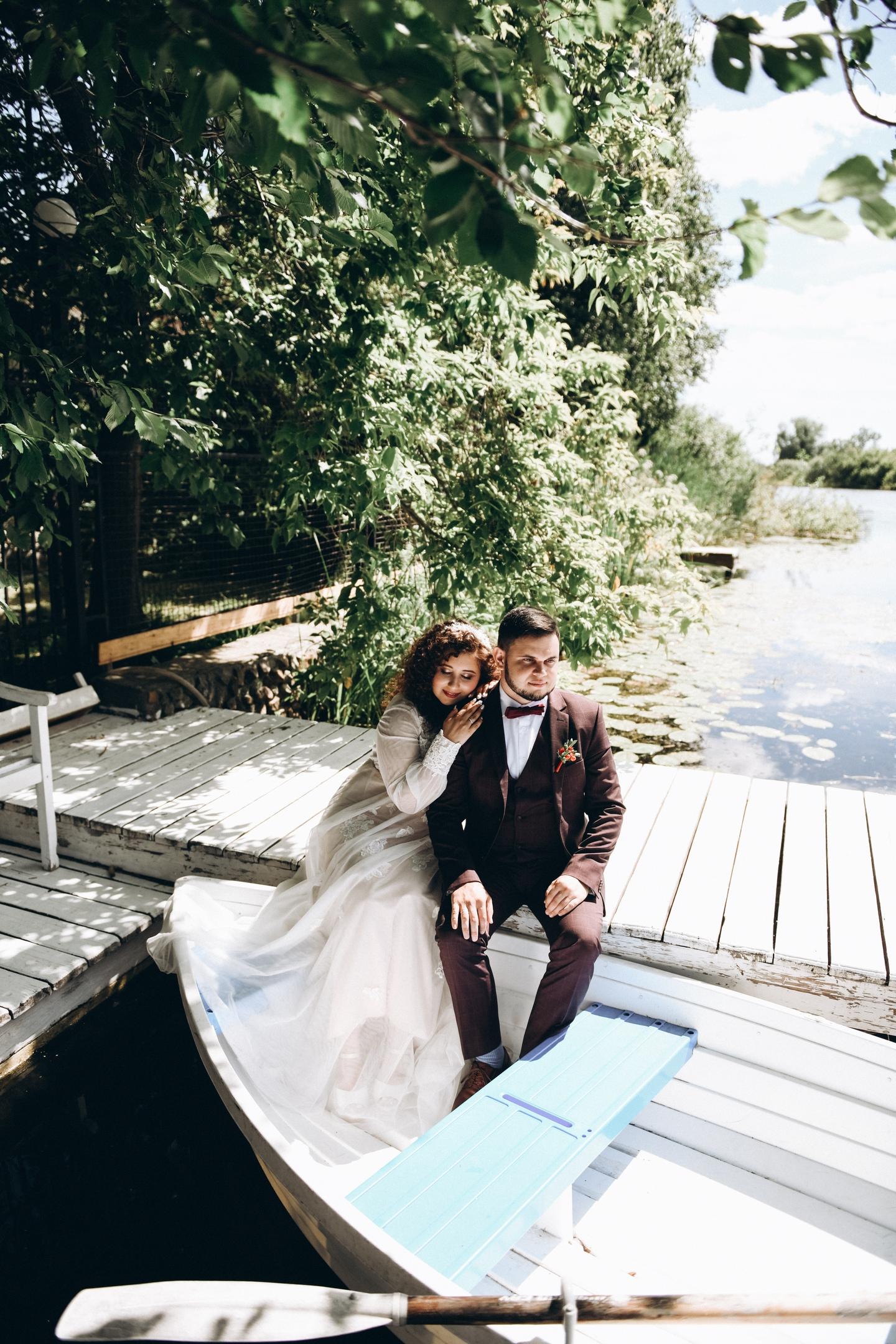 Свадебные фотографии Александра и Наталии