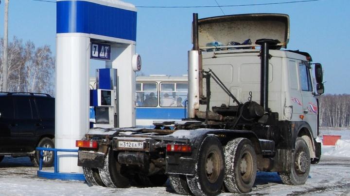 «Подгорает» от цен: дизтопливо на челябинских заправках подорожало за неделю на два рубля