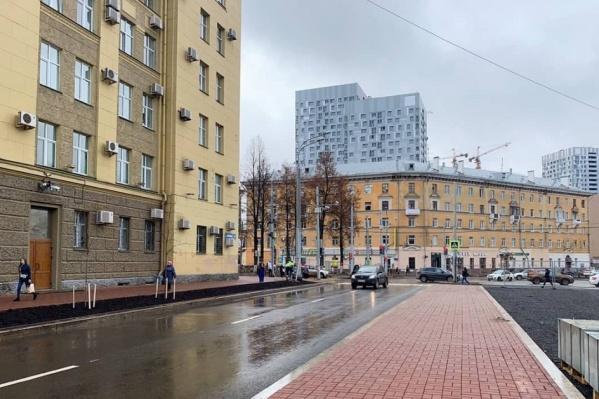 Участок от Комсомольского проспекта до улицы Сибирской полностью открыли для движения осенью