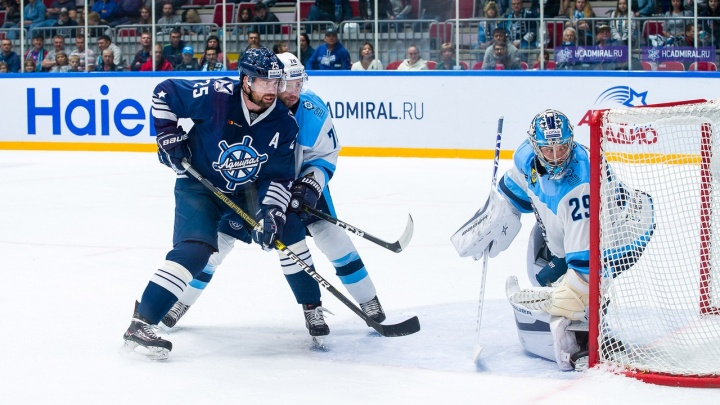 Хоккеисты «Сибири» проиграли «Адмиралу» из Владивостока