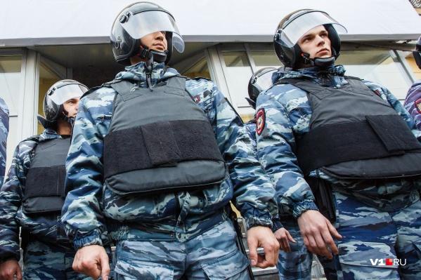 Преступников задерживали при поддержке СОБР