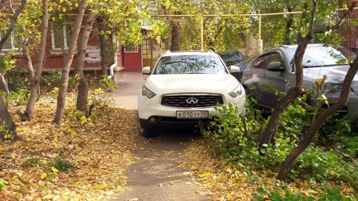 «Я паркуюсь как...»: стоянка «серединка на половинку» и почему сложно пройти до парковки