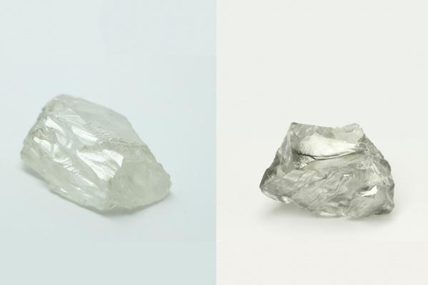 Слева —алмаз «Георгий Седов», справа —алмаз «Георгий Георгиев»