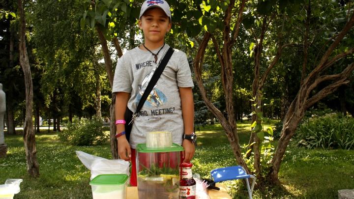 Мальчика, который продавал лимонад в парке ради нового LEGO, взяли в бизнес-школу