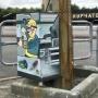 Символ постъядерного мира: напротив памятника Курчатову в Челябинске усадили героя компьютерной игры
