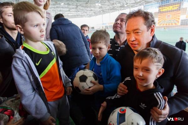 Леонид Слуцкий верит, что у Волгограда есть будущее