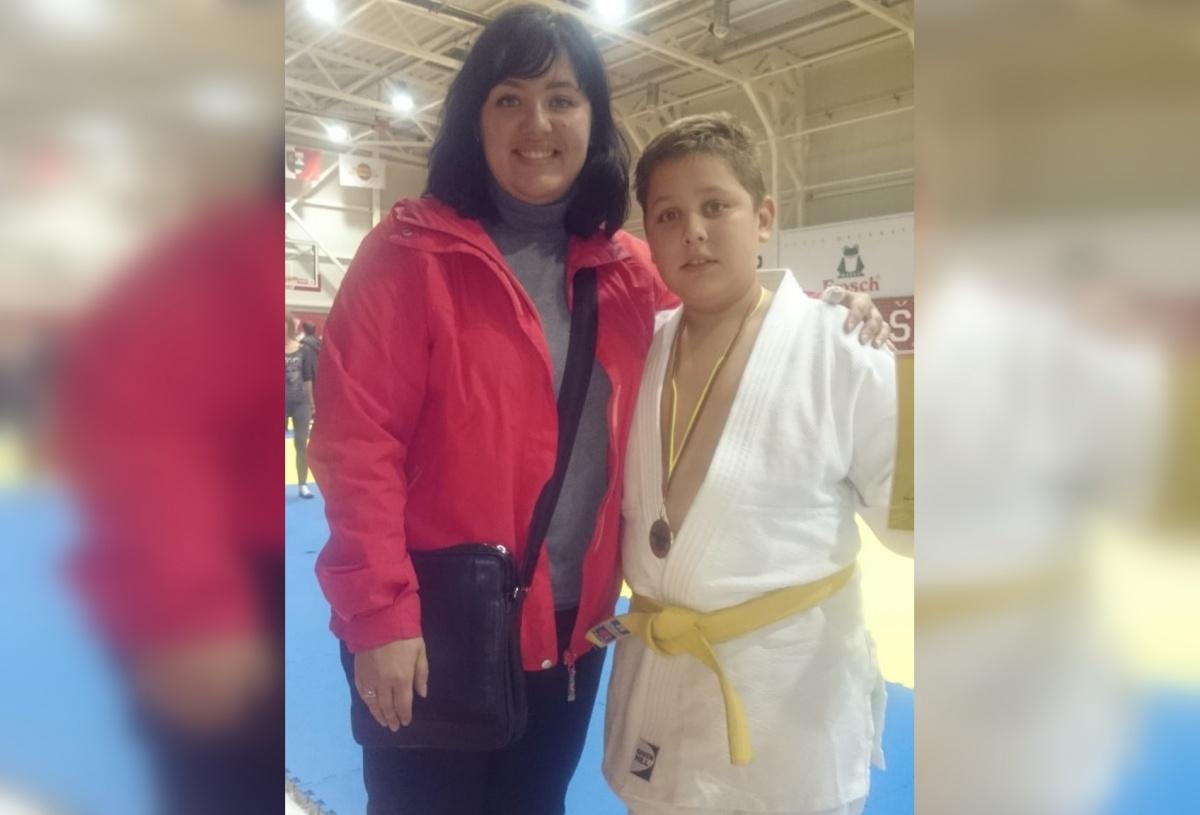 В этом году Антанас стал чемпионом Литвы по дзюдо в своей весовой категории