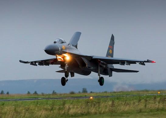 Китайские истребители отработают разведку и бомбардировку над Челябинской областью