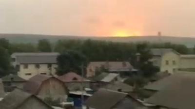 Число пострадавших от новых взрывов под Ачинском увеличилось до 9 человек