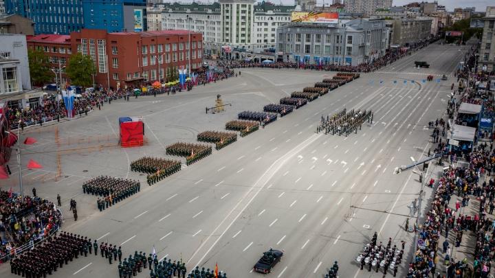 Масштабные перекрытия дорог для репетиций парада