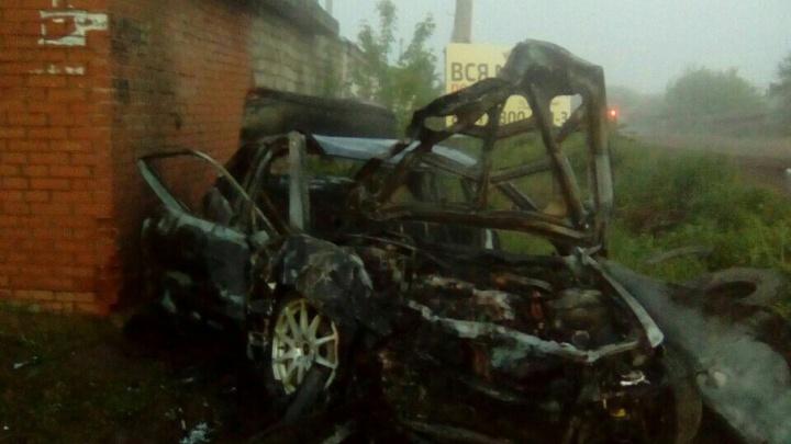 В Башкирии произошло смертельное ДТП