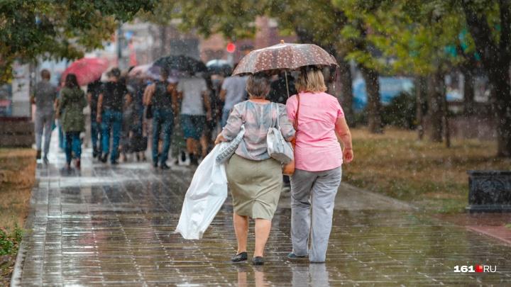 Гроза, град, ветер: на Дону испортится погода