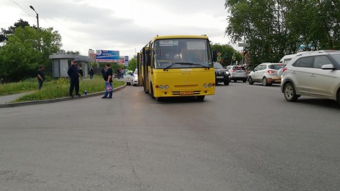 В салоне автобуса было около 20 пассажиров