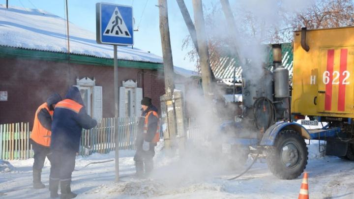 В трёх районах Омска отключат холодную воду