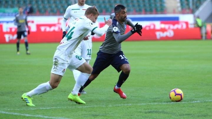 «Крылья Советов» сыграли вничью с чемпионом России в первом официальном матче 2019 года