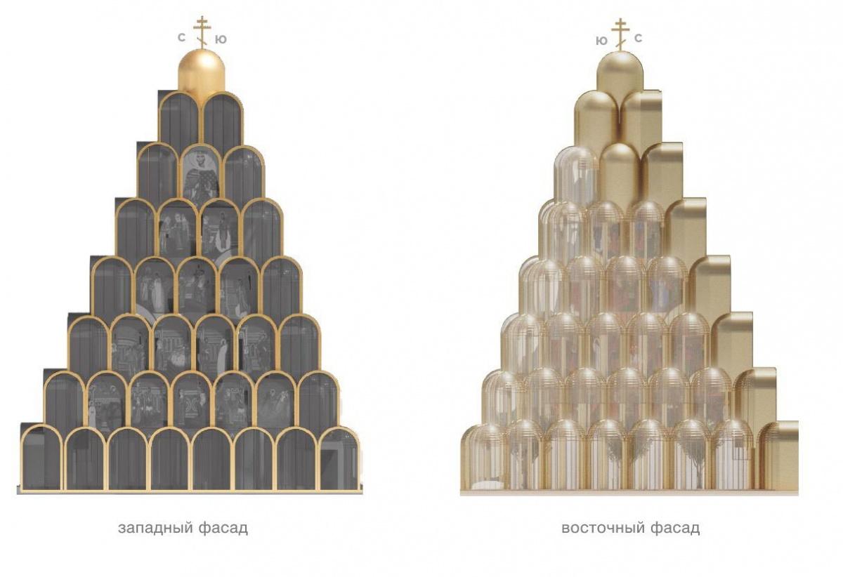 Футуристический и православный: архитекторы нарисовали необычный храм на Плотинке