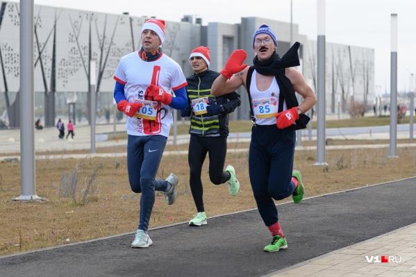Волгоградцы в последний раз массово бегали перед Рождеством