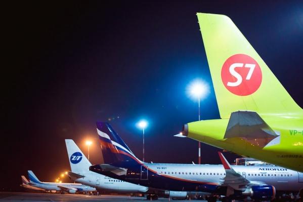 Пассажирку авиакомпании S7, почувствовавшую себя плохо, госпитализировали в тюменскую больницу