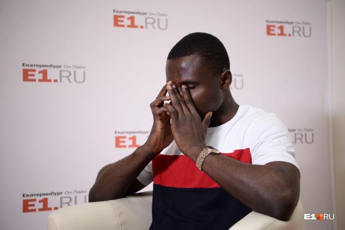 Стивену 25 лет, последние 3 года он живет в Екатеринбурге